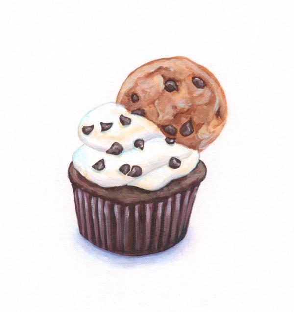 Cookie Cupcake