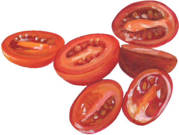 GrapeTomatoeHalves
